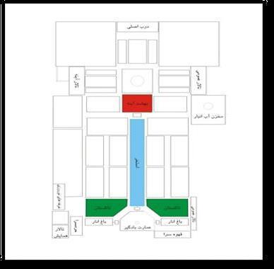 پلان باغ دولت آباد