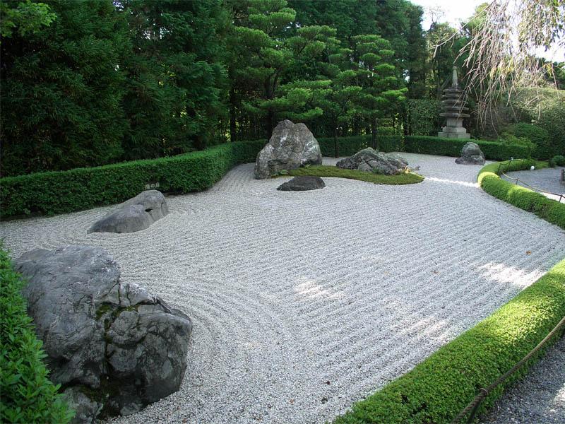 باغ خشک یا Zen