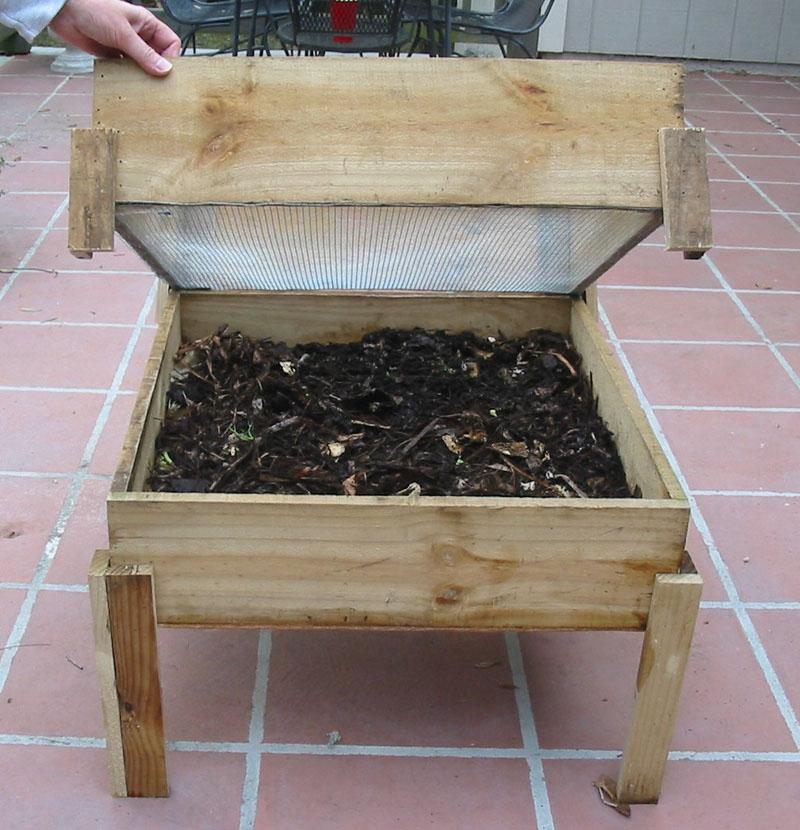 جعبه ی ورمیکمپوست