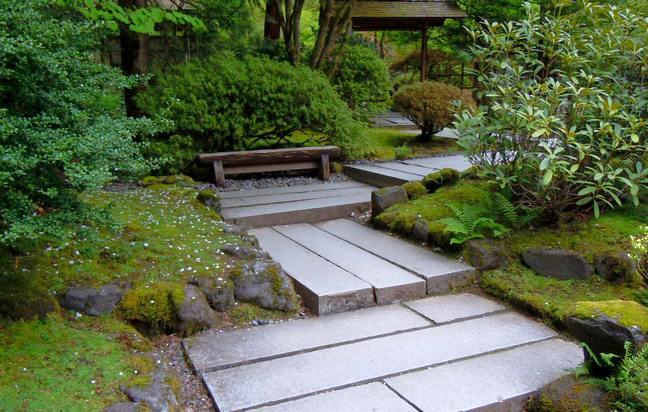 مسیردر باغ ژاپنی